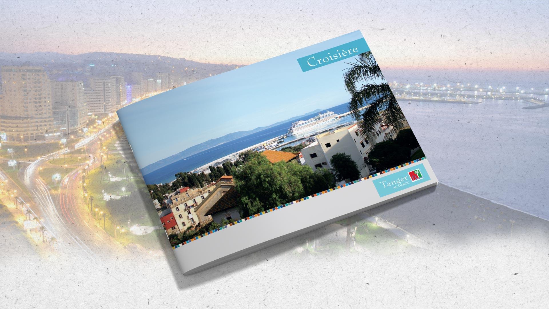 Présentation de Brochure | Croisière - Tanger - map-concepts Agence Communication de Tanger