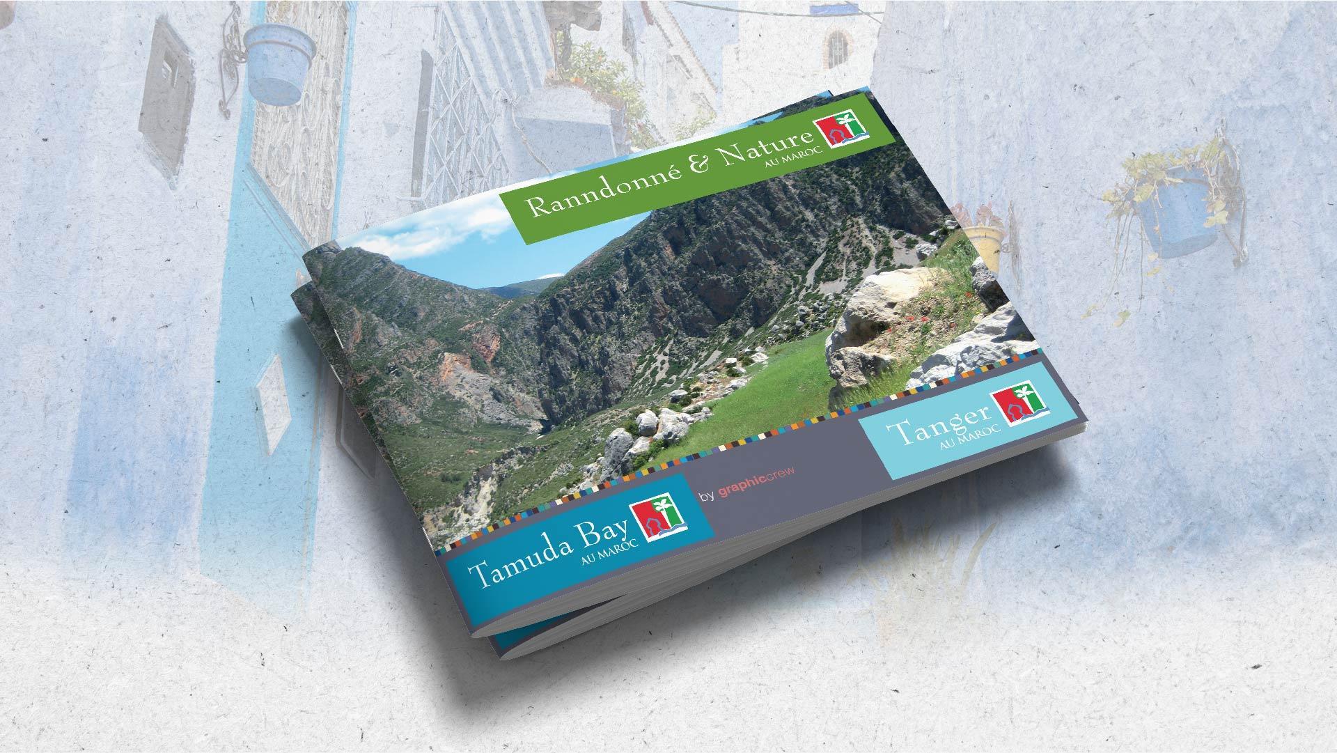 Présentation de Brochure | Tamuda Bay - map-concepts Agence Communication de Tanger