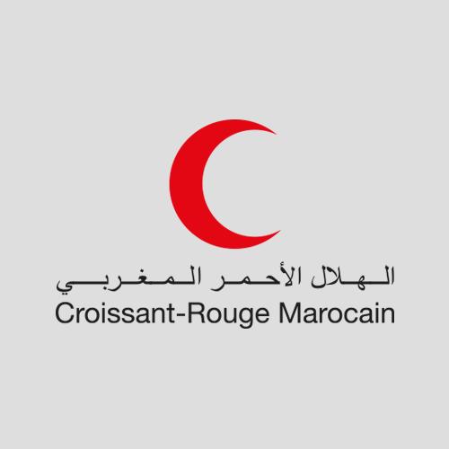Croissant rouge marocain - map-concepts Agence Communication de Tanger